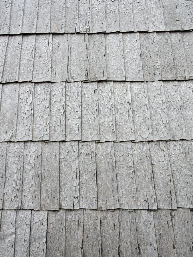 Textura de madeira do telhado fotos de stock royalty free
