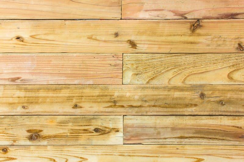 Textura de madeira do teste padrão do fundo velho do teste padrão do bordo de madeira imagens de stock