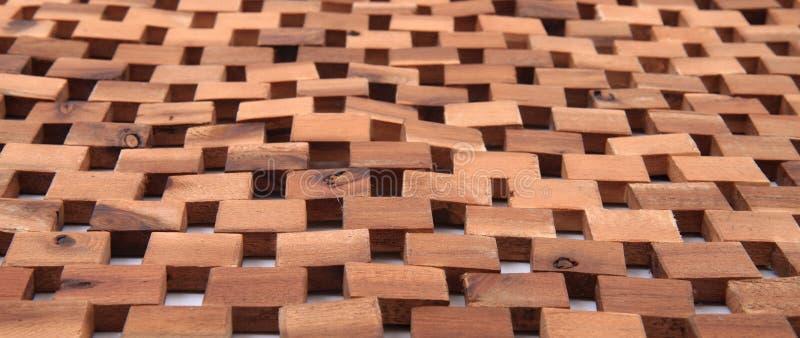 Textura de madeira dos cubos foto de stock