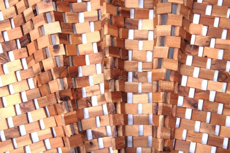 Textura de madeira dos cubos fotos de stock