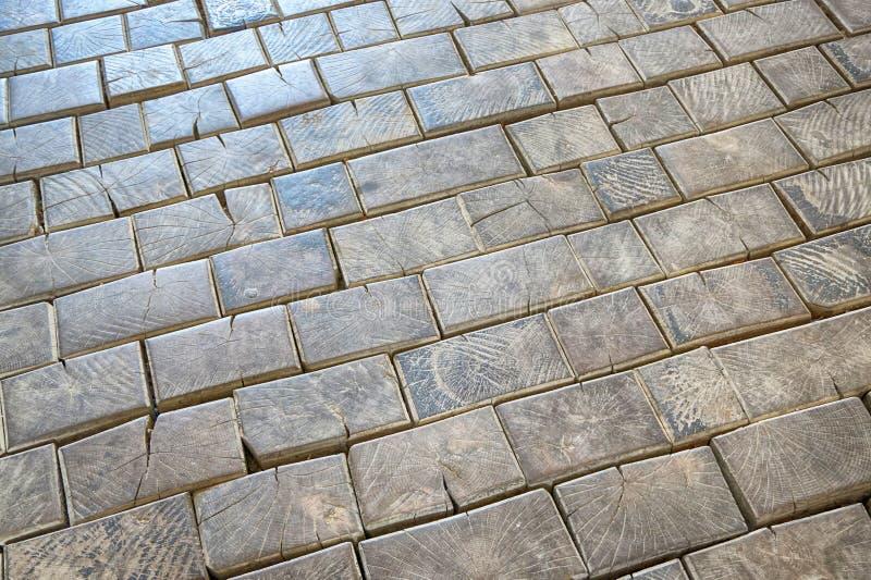 Textura de madeira dos cubos fotografia de stock royalty free