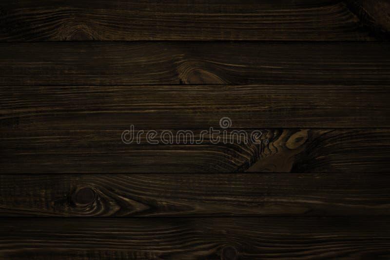 Textura de madeira escura fotos de stock royalty free