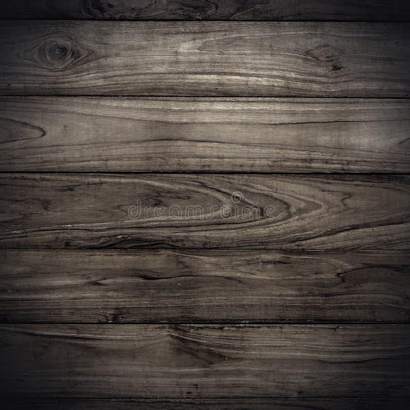 Textura de madeira escura grande da parede da prancha fotos de stock