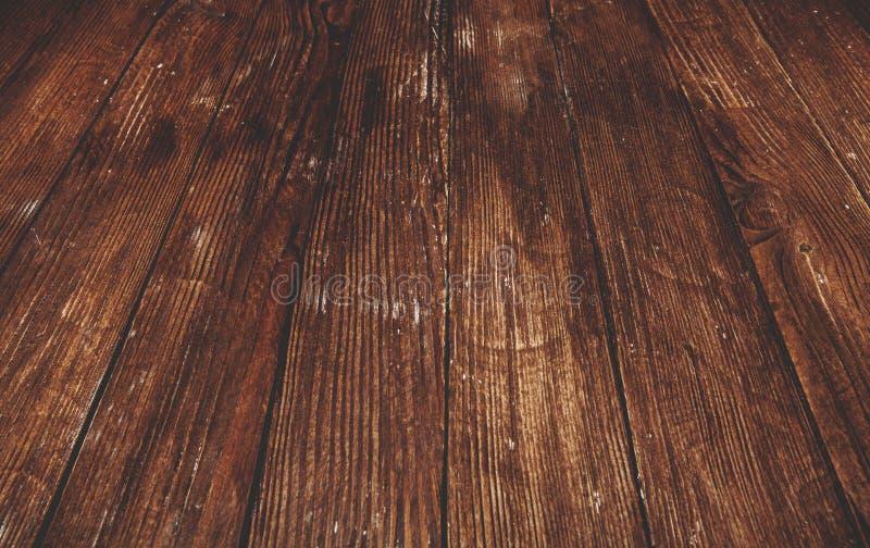Textura de madeira escura Textura marrom de madeira painéis velhos do fundo Tabela de madeira retro Fundo rústico O vintage color fotos de stock royalty free