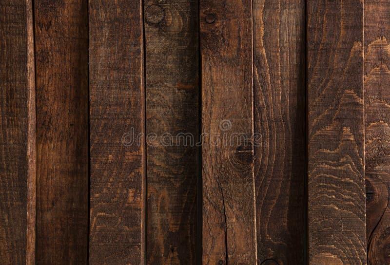 Textura de madeira escura Painéis de madeira escuros do fundo fotos de stock royalty free