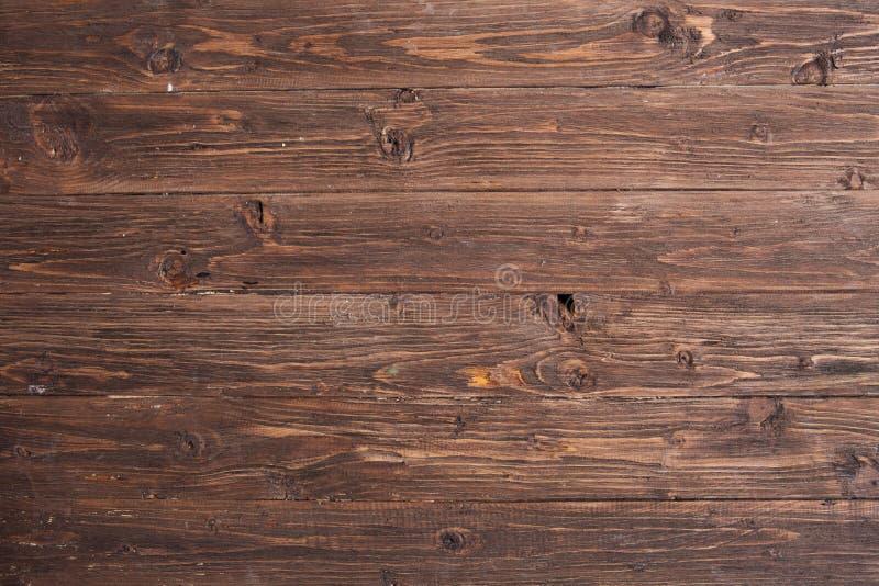 Textura de madeira escura Painéis de madeira velhos escuros do fundo fotografia de stock
