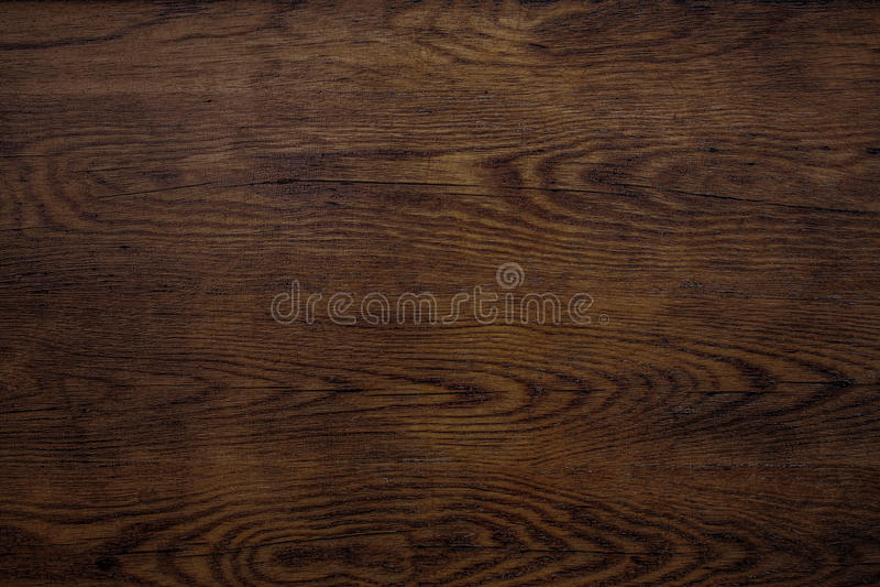 Textura de madeira escura velha da chapa imagens de stock