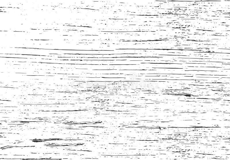 Textura de madeira Fundo do vetor de Grunge Folha de prova afligida ilustração do vetor