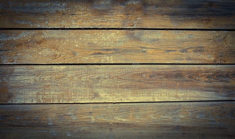 Textura de madeira gasto envelhecida do fundo imagem de stock