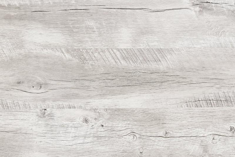 Textura de madeira lavada branco do teste padrão foto de stock royalty free