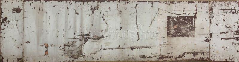 Textura de madeira pintada do fundo imagens de stock