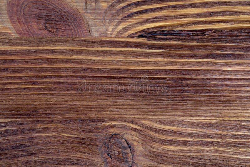 Textura de madeira preciosa Do aspecto rústico e escuro, o ocre, marrom, brindou, enegrece tons foto de stock