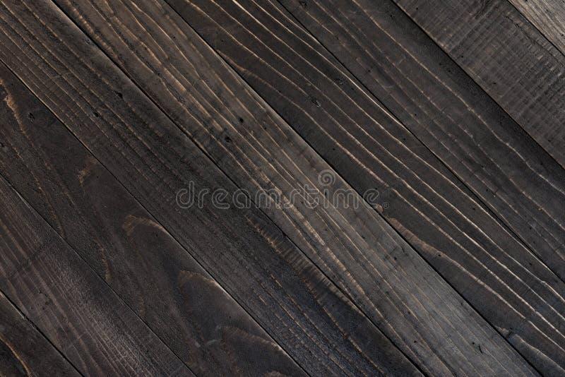 Textura de madeira preta imagem de stock royalty free