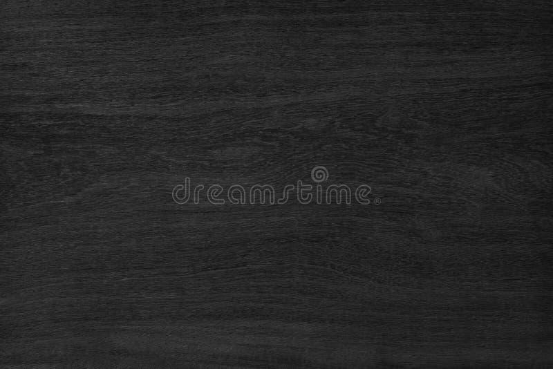 Textura de madeira preta do fundo Placa para o projeto fotografia de stock royalty free