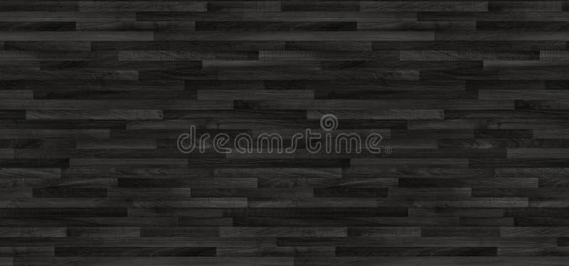 Textura de madeira preta do parquet painéis velhos do fundo foto de stock royalty free