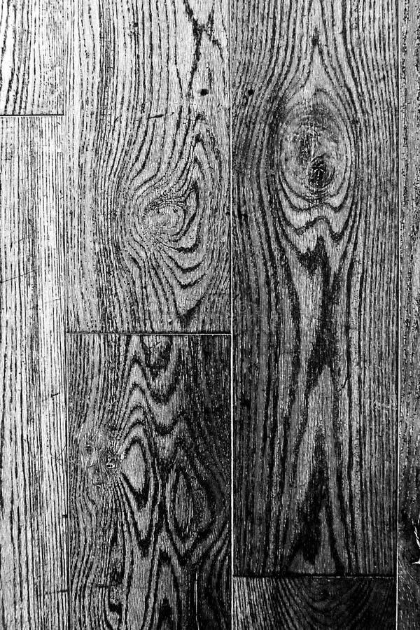 Textura de madeira preto e branco painéis velhos do fundo fotografia de stock