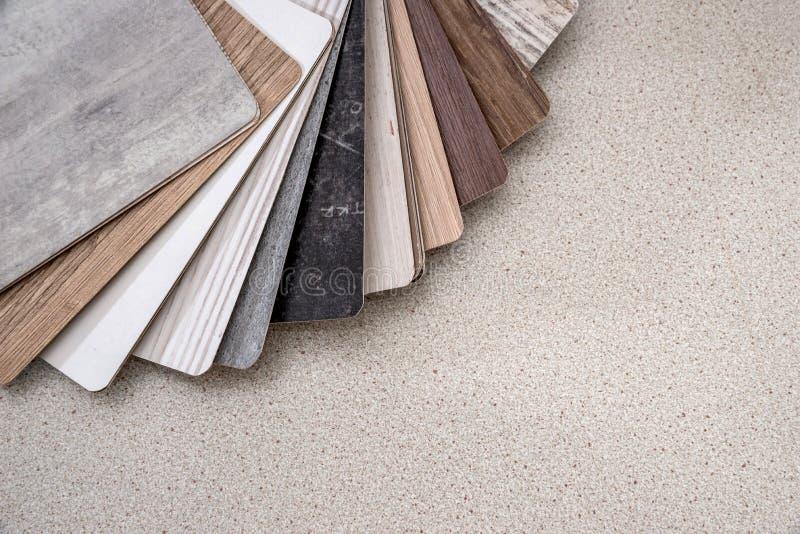 A textura de madeira prova o guia imagem de stock