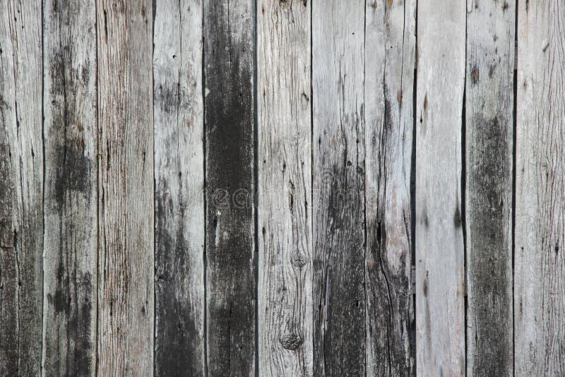 Textura de madeira resistida do fundo das pranchas imagem de stock