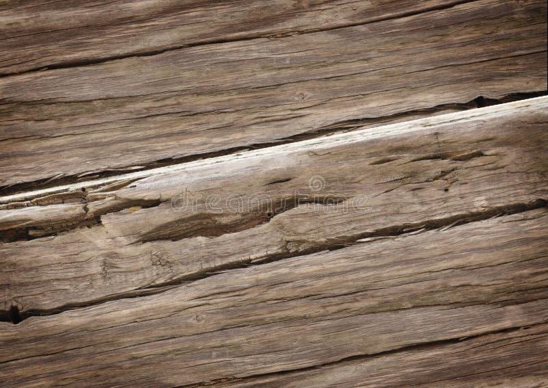Textura de madeira rica velha da grão imagens de stock