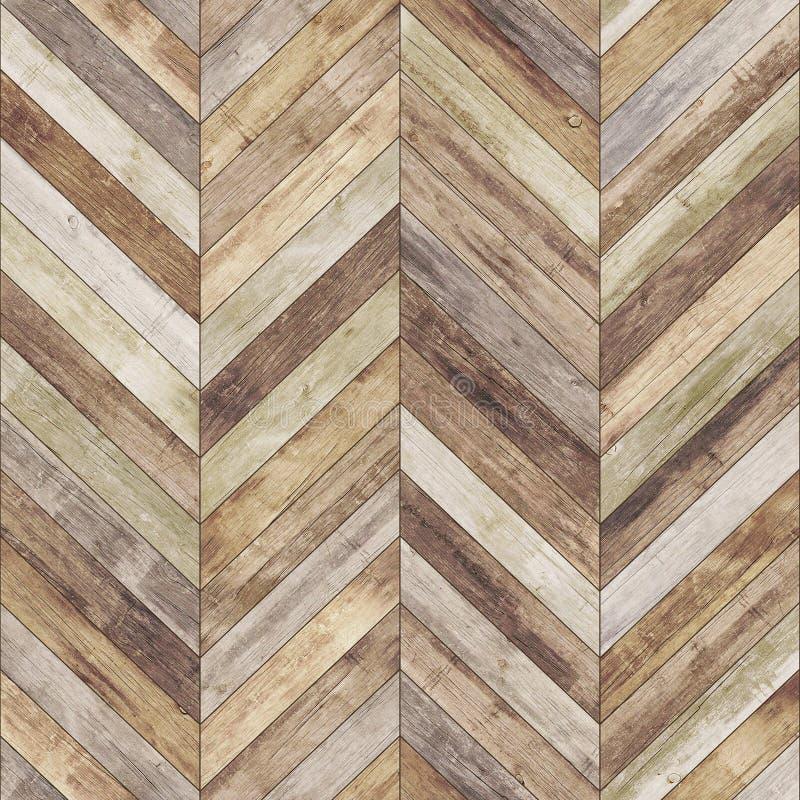Textura de madeira sem emenda do parquet velha foto de stock