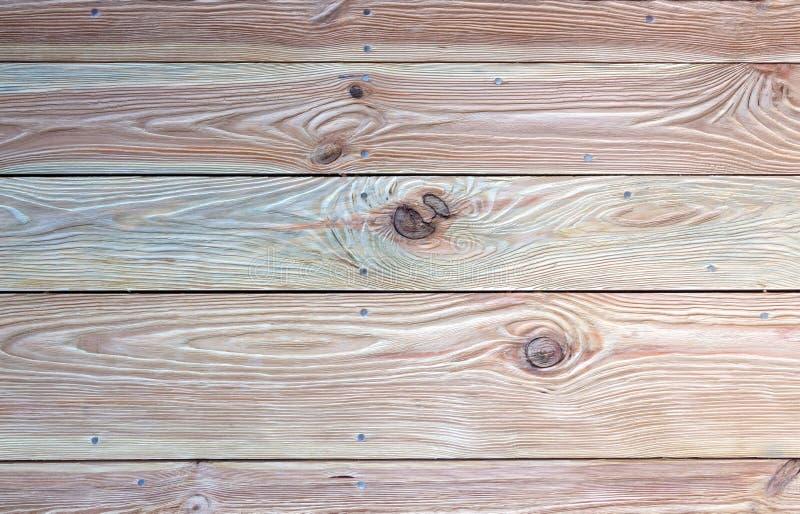 Textura de madeira velha colorida para o close-up do fundo foto de stock