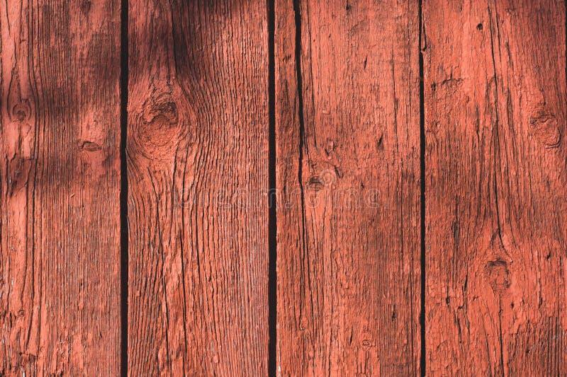 Textura de madeira vermelha Fundo abstrato, molde vazio foto de stock