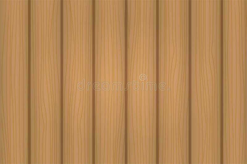 Textura de madera anaranjada detallada dibujada mano stock de ilustración