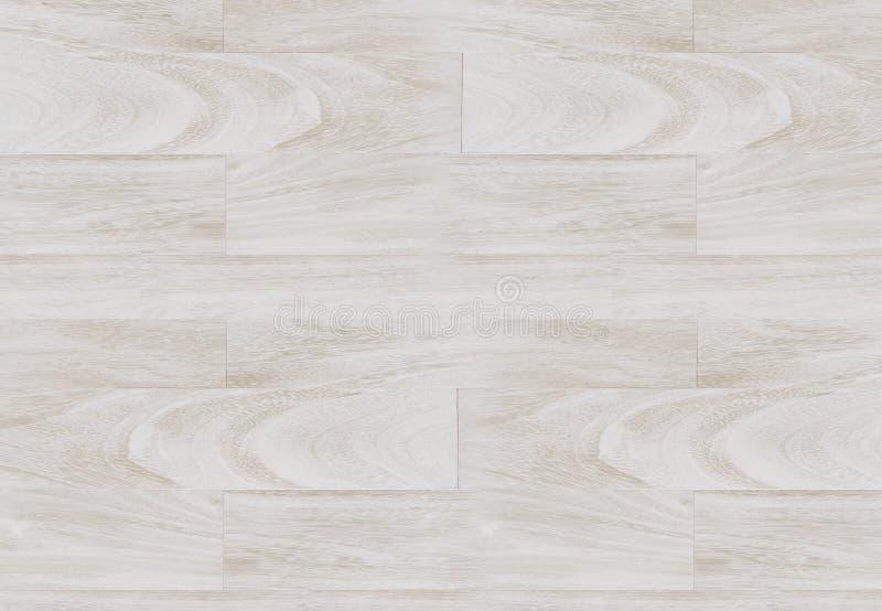 Textura de madera blanca blanqueada del fondo del entarimado imágenes de archivo libres de regalías