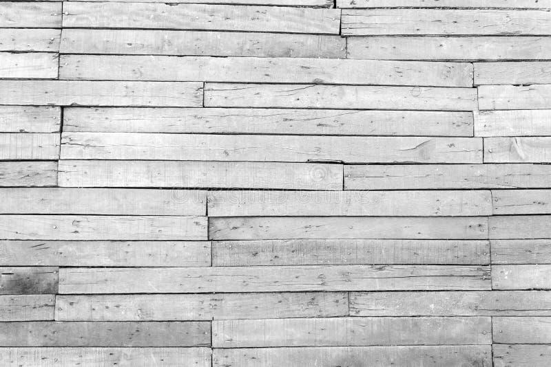 Textura de madera blanca del fondo del viejo vintage, piso de madera inconsútil t imágenes de archivo libres de regalías