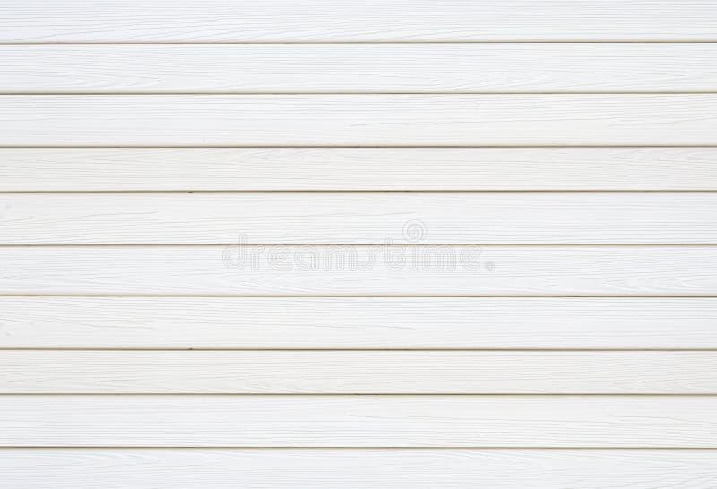 Textura de madera blanca del panel fotografía de archivo