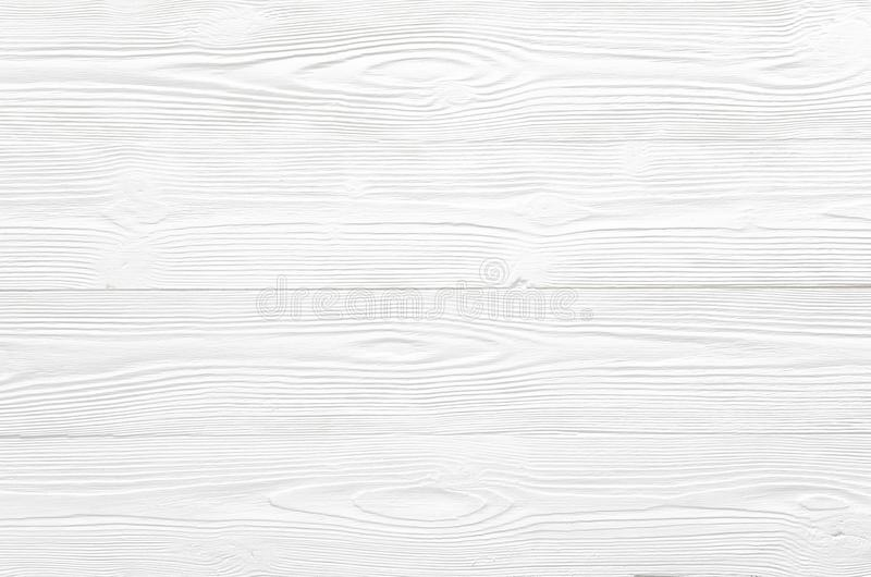 Textura de madera blanca pura sólida con el modelo rayado natural para b imagen de archivo