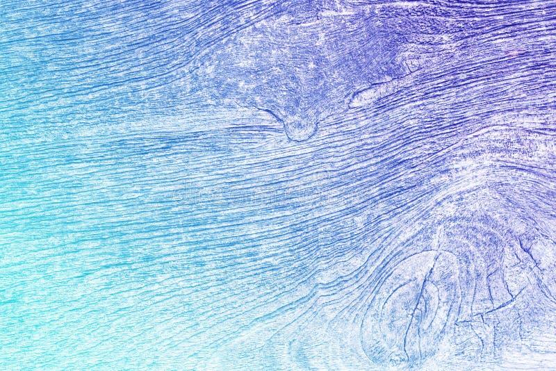 Textura de madera ciánica y púrpura de la pendiente vieja fotografía de archivo