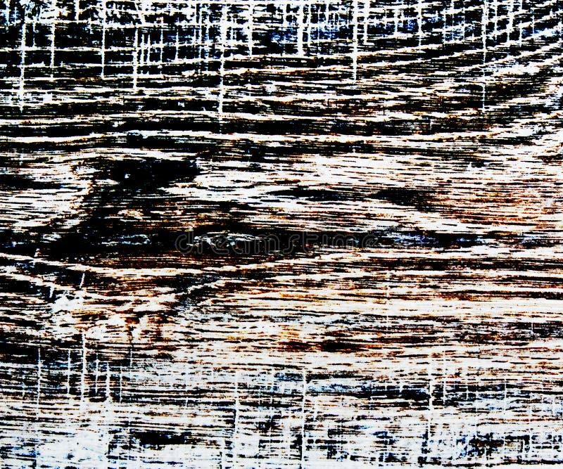 Textura de madera coloreada del alto contraste fotografía de archivo libre de regalías