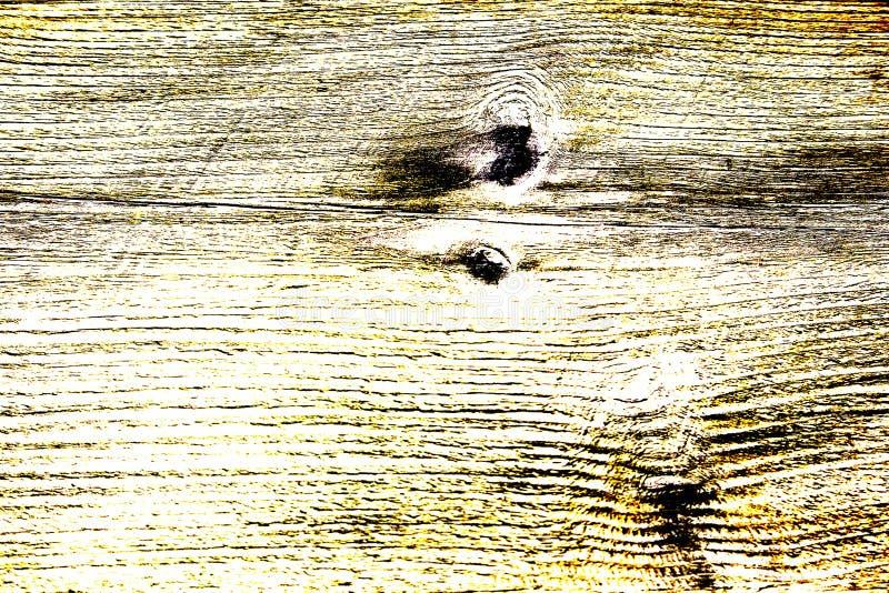 Textura de madera coloreada del alto contraste en tonos amarillos fotos de archivo libres de regalías