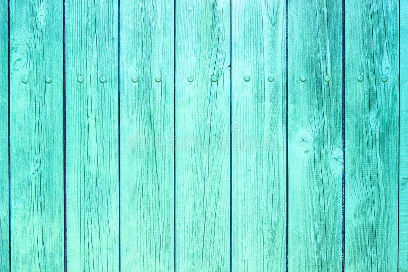 Textura de madera coloreada turquesa imágenes de archivo libres de regalías