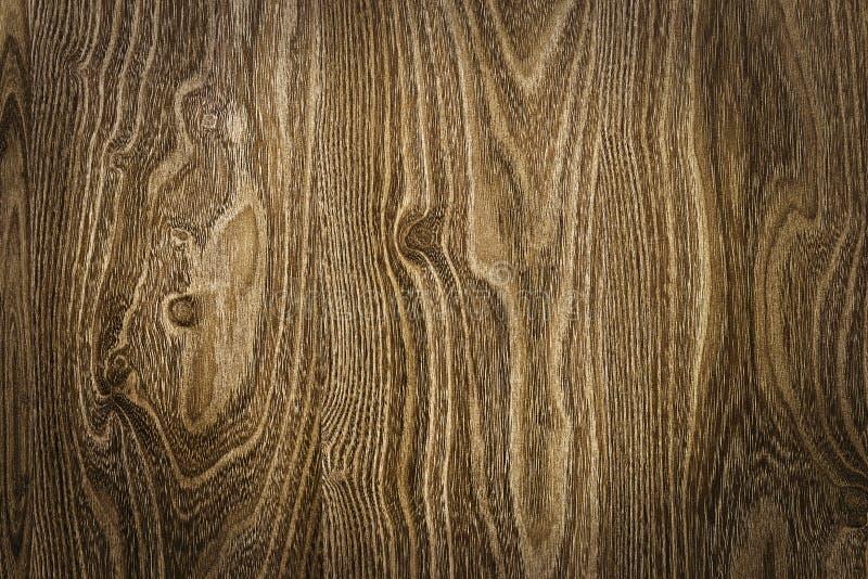 Textura de madera de Brown con los modelos naturales imagen de archivo