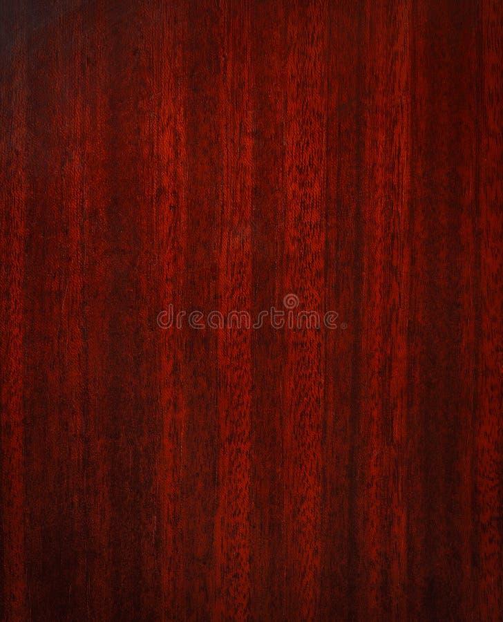 Textura de madera de caoba fotografía de archivo