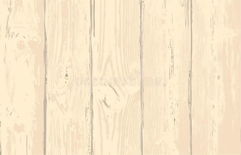 Textura de madera de la capa de los tablones para su diseño Fondo elegante lamentable Fácil corregir el contexto de madera libre illustration