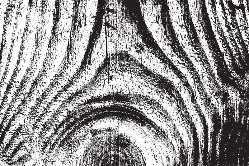 Textura de madera de la desolación ilustración del vector