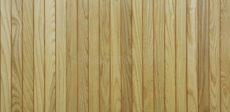 Textura de madera de la pared del tablón de Brown foto de archivo libre de regalías