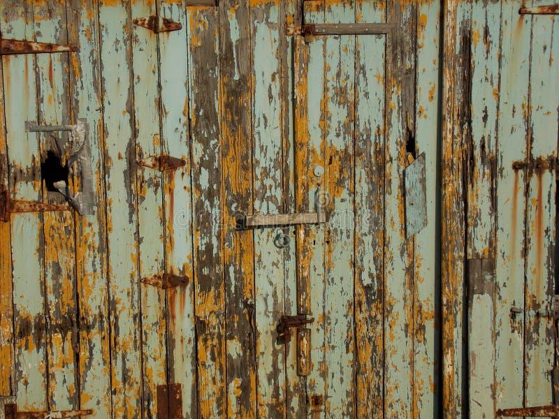 Textura de madera de los tableros del grano foto de archivo