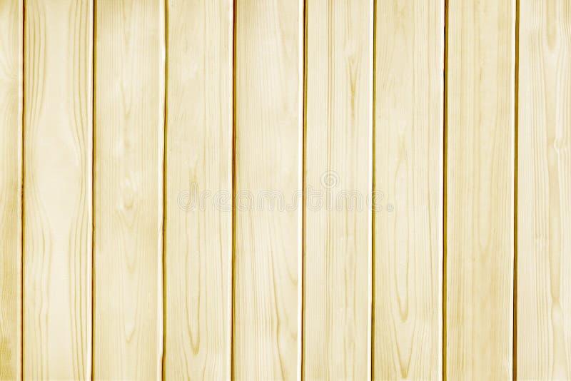 Fondo de madera de la textura del amarillo del tablón del pino fotografía de archivo libre de regalías
