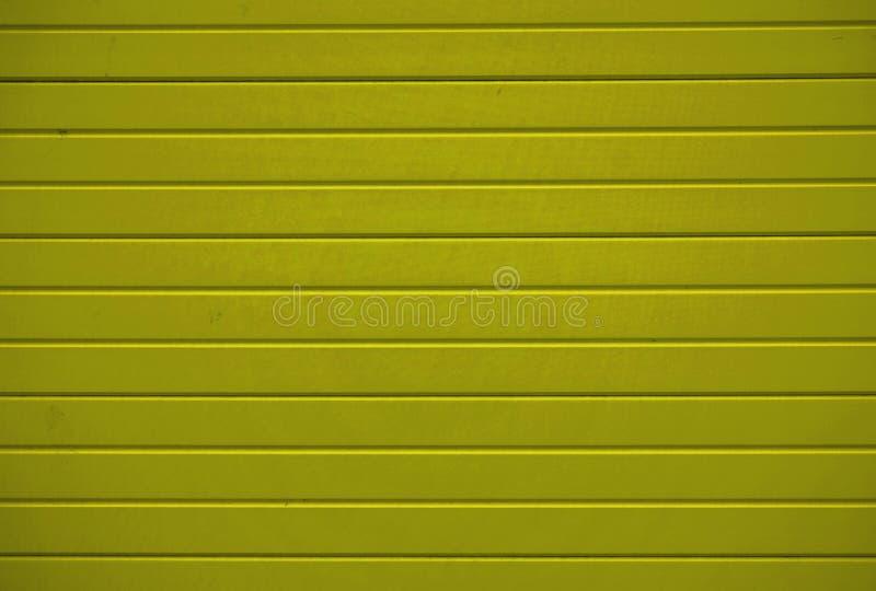Textura de madera del fondo con los tablones amarillos ilustración del vector