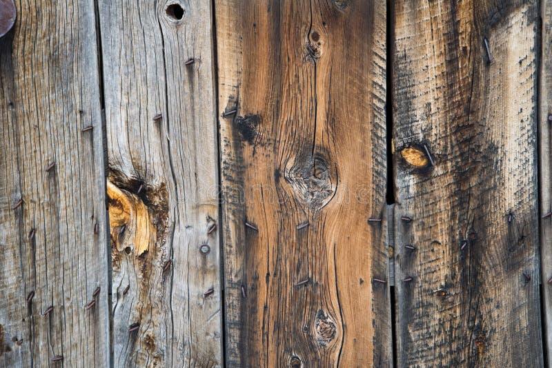 Textura de madera del fondo de la pared del granero imágenes de archivo libres de regalías