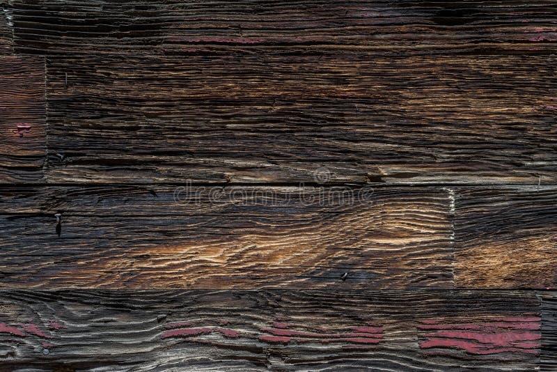 Textura de madera del fondo del granero occidental viejo imagen de archivo