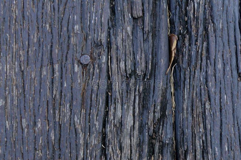 Textura de madera del fondo del piso del granero viejo foto de archivo