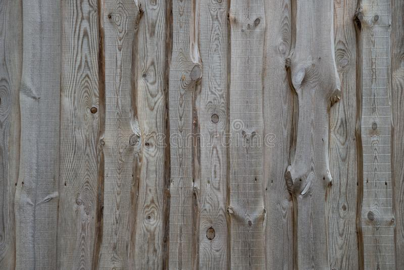 Textura de madera del fragmento de la fachada de la pared fotografía de archivo