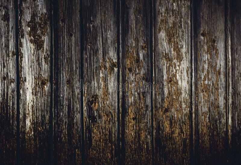 Textura de madera del Grunge, cierre para arriba de la pared de madera Backgroun abstracto imagenes de archivo