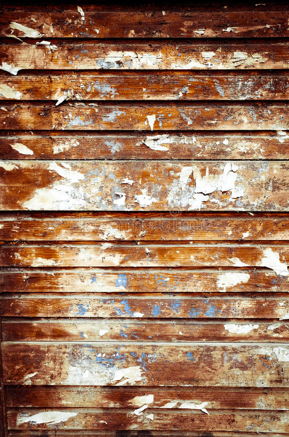 Textura de madera del marrón del tablón del vintage fotografía de archivo
