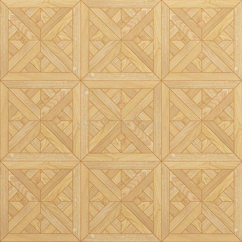 Textura de madera del suelo inconsútil ilustración del vector